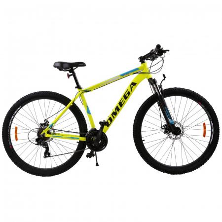 """Bicicleta mountainbike Omega Thomas 27.5"""" galben [2]"""