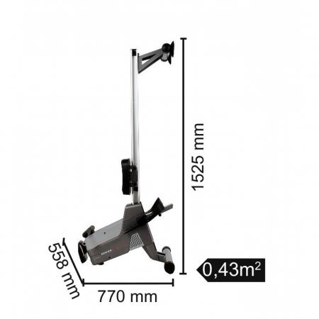 Aparat de vaslit TOORX Rower Active PRO [1]