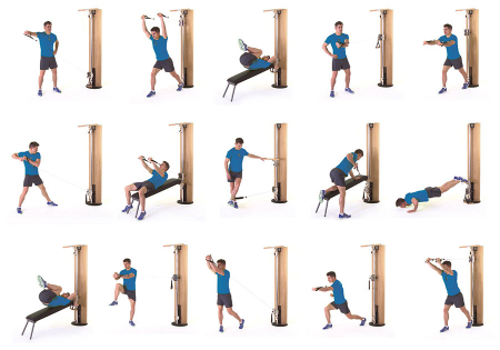 Aparat multifunctional fitness NOHRD SLIMBEAM [1]