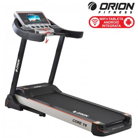 Banda de alergat electrica cu tableta Android incorporata Orion Core Y8 [1]