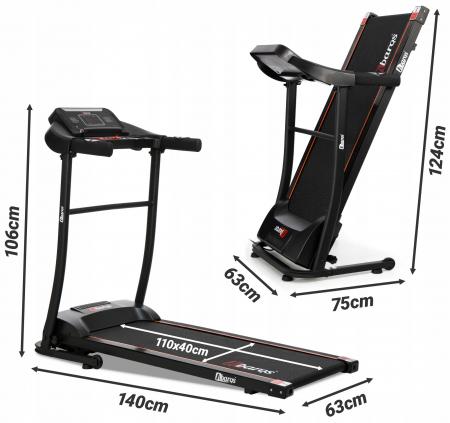 Banda de alergat electrica Sportmann ABARQS, 2CP, 110 kg [1]