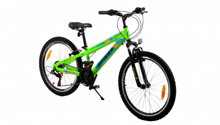 "Bicicleta copii Omega Gerald 24"" verde [0]"