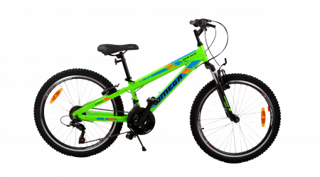 "Bicicleta copii Omega Gerald 24"" verde [1]"