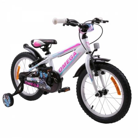 "Bicicleta copii Omega Master 20"" alb [0]"