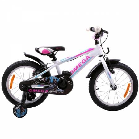 "Bicicleta copii Omega Master 20"" alb [1]"
