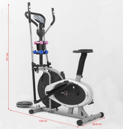 Bicicleta eliptica 17 R Combo [2]