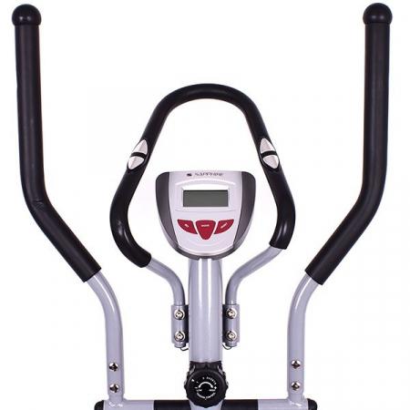 Bicicleta eliptica Corner carbon/rosu [1]
