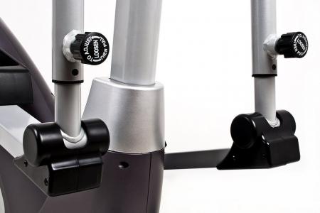 Bicicleta eliptica GALAXY II carbon/argintiu [5]