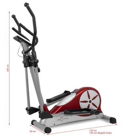 Bicicleta Eliptica Hiton 520 - Rosu [12]