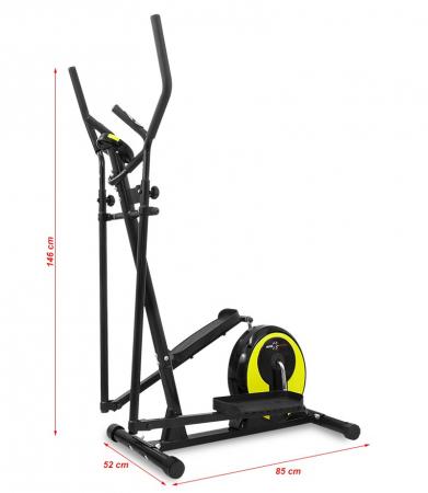Bicicleta eliptica Hiton Ocelot- negru/galben [3]
