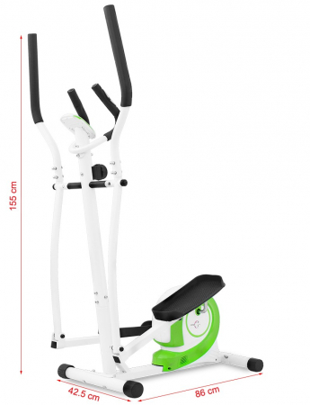Bicicleta eliptica Hiton Travel-alba [3]
