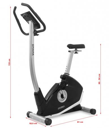 Bicicleta ergometru Scud Shark  [3]