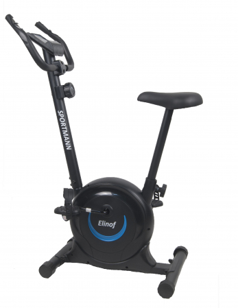 Bicicleta magnetica fitness Sportmann Elinof Negru/Albastru [0]