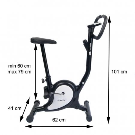 Bicicleta fitness Konfort Sportmann negru [3]