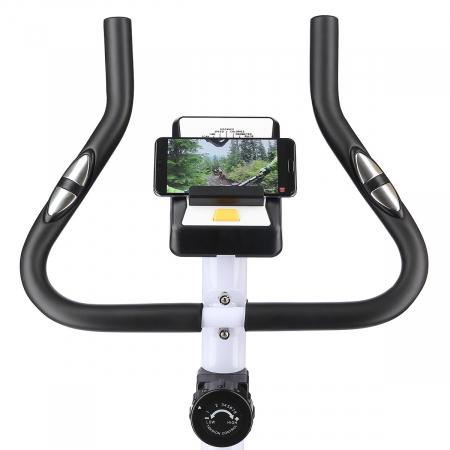 Bicicleta fitness magnetica HMS ONE RM8740 alb [14]