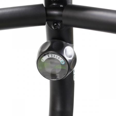 Bicicleta fitness magnetica recumbent HMS R9259 PLUS negru-verde [12]
