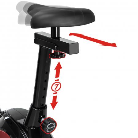 Bicicleta fitness magnetica Sportmann Abarqs RW-33 [19]
