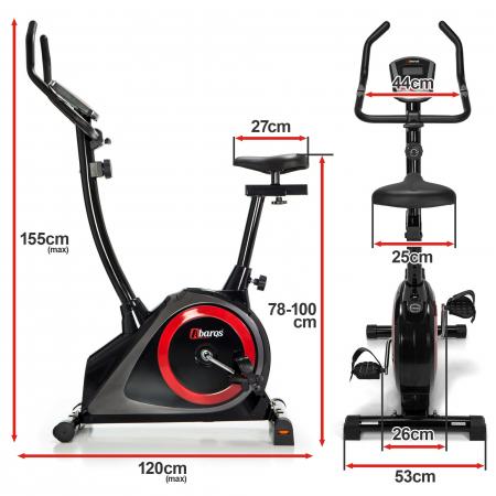 Bicicleta fitness magnetica Sportmann Abarqs RW-33 [1]