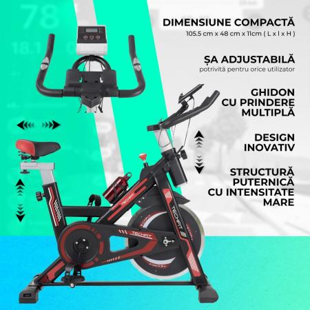 Bicicleta fitness spinning Techfit SBK1500 [6]