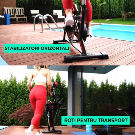 Bicicleta fitness spinning Techfit SBK1500 [4]