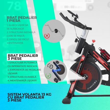 Bicicleta fitness spinning Techfit SBK1500 [2]