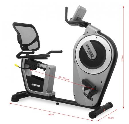 Bicicleta fitness recumbent SCUD U7 Huis [14]