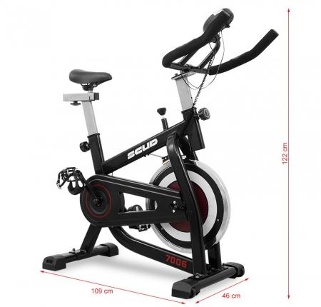 Bicicleta Indoor Cycling SCUD 7006 [13]