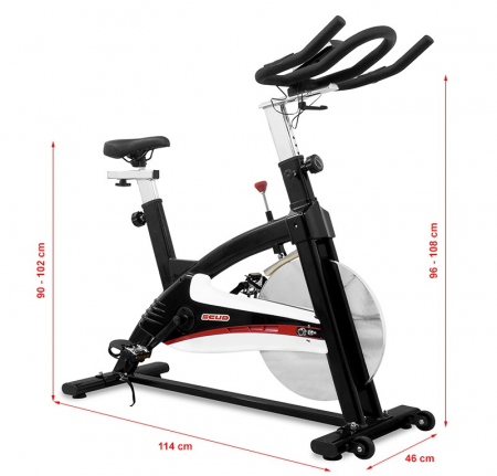 Bicicleta indoor cycling Scud 708 [4]