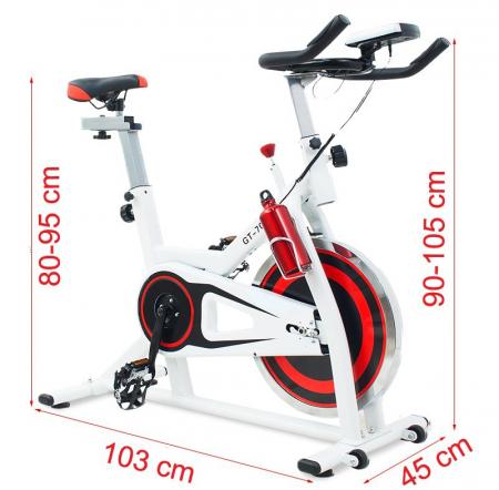 Bicicleta indoor cycling Scud GT-703 [1]
