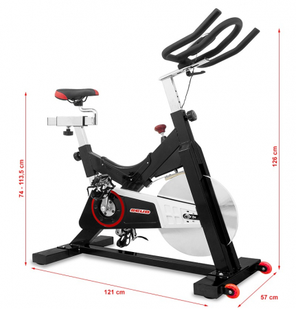 Bicicleta indoor cycling Scud GT-709 [14]