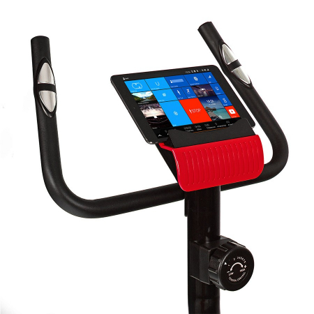 Bicicleta magnetica EXIS SG-300B- negru/rosu [4]