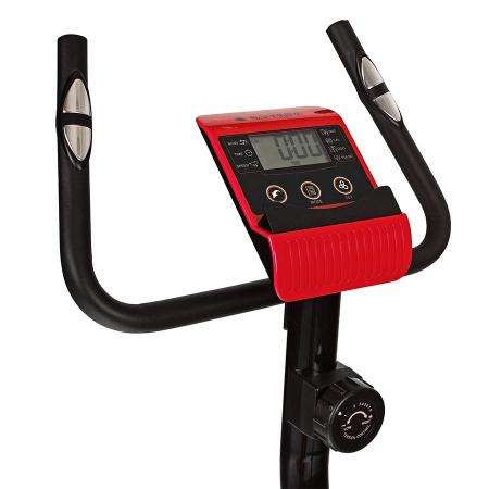 Bicicleta magnetica EXIS SG-300B- negru/rosu [8]