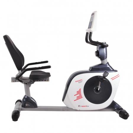 Bicicleta magnetica recumbent inSPORTline Nahary [0]