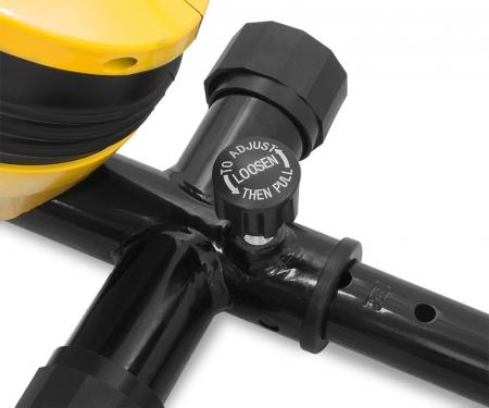 Bicicleta magnetica recumbent Scud Swift H4-galbena [8]
