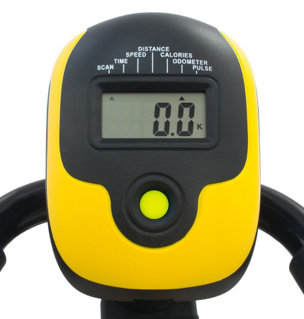 Bicicleta magnetica recumbent Scud Swift H4-galbena [5]