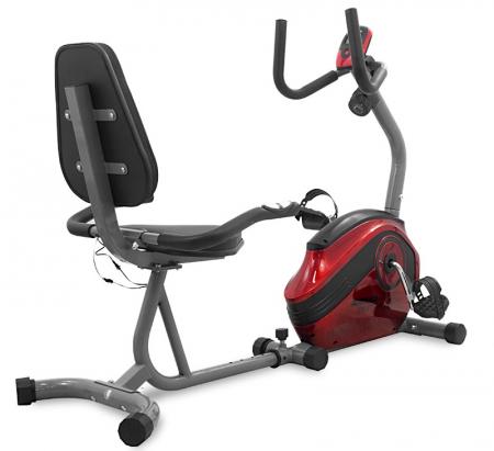 Bicicleta magnetica recumbent Scud Swift H4-rosie [2]