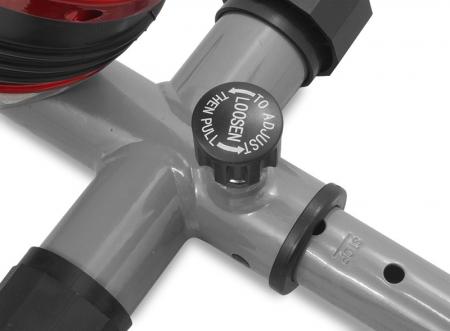 Bicicleta magnetica recumbent Scud Swift H4-rosie [6]
