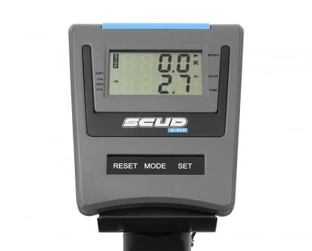 Bicicleta magnetica Scud V-Fit- negru/albastru [6]