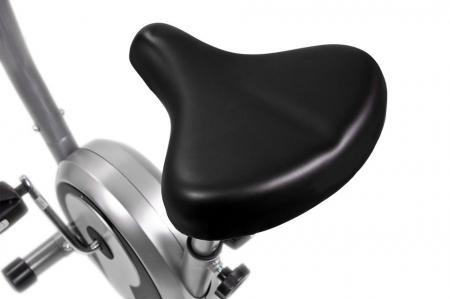 Bicicleta magnetica SMART - gri/negru [2]