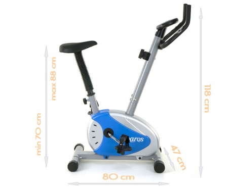 Bicicleta magnetica Sportmann RW-28.6- albastra [5]