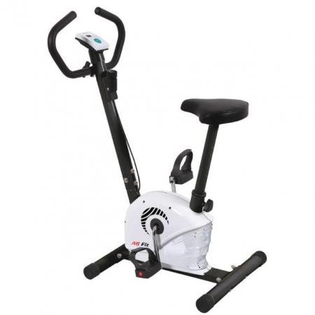 Bicicleta fitness mecanica AB Fit MB1.3 alb [1]