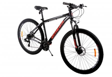 "Bicicleta mountainbike Omega Duke 27.5"" negru/rosu/albastru [0]"