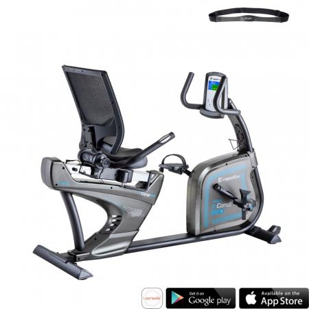 Bicicleta fitness recumbent inSPORTline inCondi R600 [0]