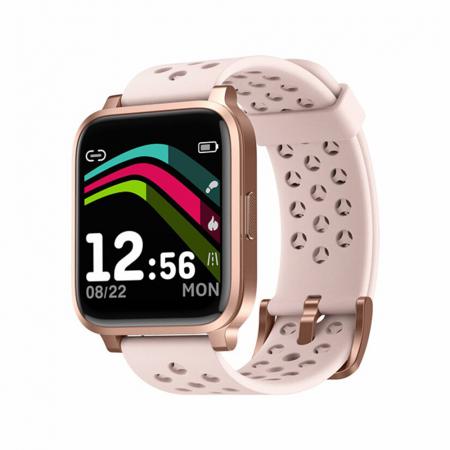 Bratara Fitness Tracker, Twinkler TKY-X3, Auriu, Monitorizare ritm cardiac, Notificari, Pedometru, Distanta [0]