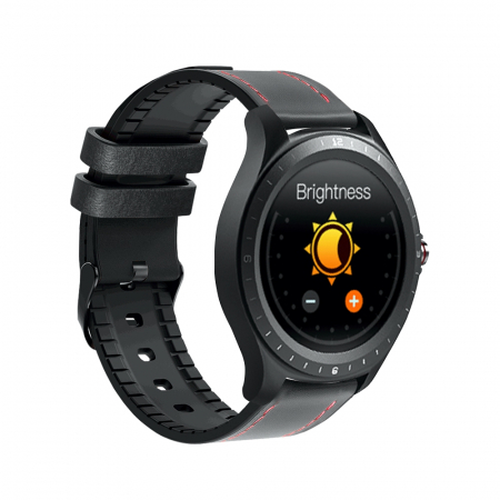 Ceas smartwatch BlitzWolf BW-HL2, Negru, Pedometru, Distanta, Calorii arse, 6 Moduri sportive, Sedentarism [2]