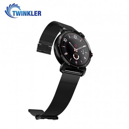Ceas Smartwatch K88H Plus cu Functie Apelare prin Bluetooth, Senzor puls, Monitorizare somn, Notificari, Pedometru, Incarcare magnetica, Negru [1]
