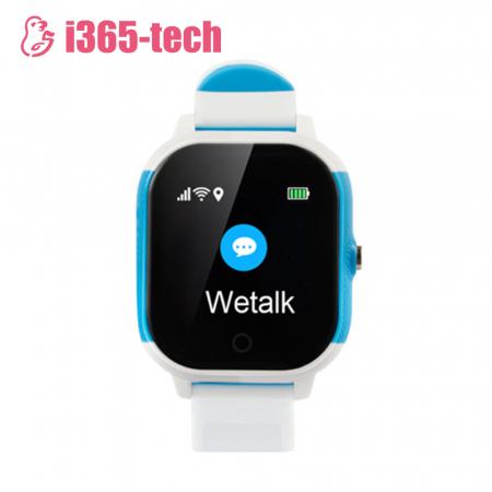 Ceas Smartwatch Pentru Copii i365-Tech FA23 cu Functie Telefon, Localizare GPS, SOS, Istoric traseu, Pedometru, Alb ; Albastru [1]