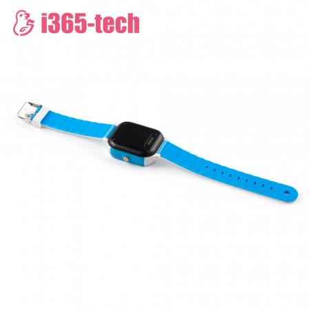 Ceas Smartwatch Pentru Copii i365-Tech FA23 cu Functie Telefon, Localizare GPS, SOS, Istoric traseu, Pedometru, Alb ; Albastru [3]