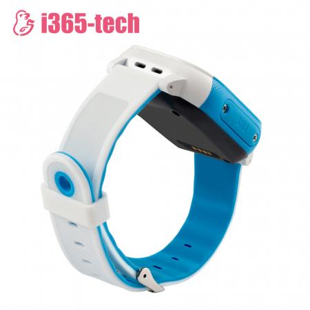 Ceas Smartwatch Pentru Copii i365-Tech FA23 cu Functie Telefon, Localizare GPS, SOS, Istoric traseu, Pedometru, Alb ; Albastru [2]