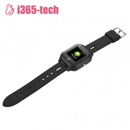 Ceas Smartwatch Pentru Copii i365-Tech FA28 cu Functie Telefon, Apel video, Localizare GPS, Camera, Pedometru, SOS, IP54, 4G, Negru [2]